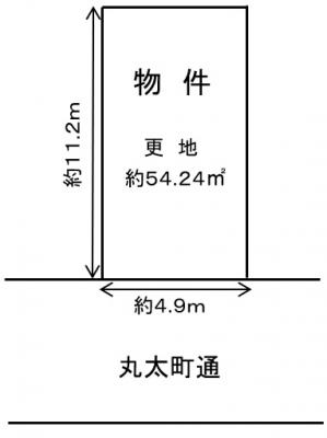 【外観】地下鉄丸太町 売土地