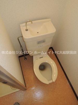 【トイレ】リリー本郷台10号棟