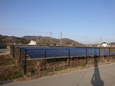 【外観】赤穂市有年原売土地(太陽光発電付)
