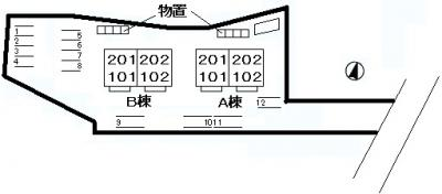 【その他】シャトーKINKI B棟