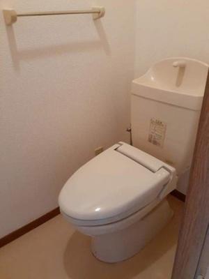【トイレ】クーバーインウエストA