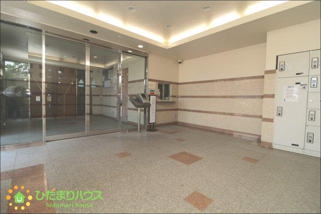 【エントランス】レーベンハイム栗橋