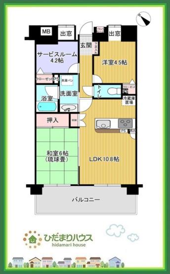全居室収納完備♪お部屋がすっきり片付きます。