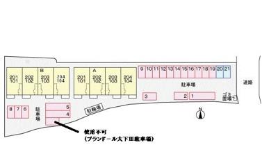 【区画図】エルシャトーB