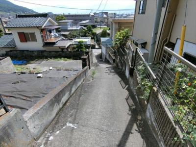 【前面道路含む現地写真】東光寺町土地