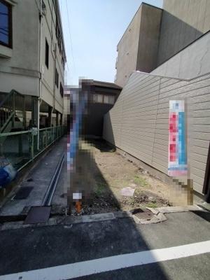 【前面道路含む現地写真】都島区御幸町1丁目 新築戸建て