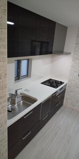 施工例のキッチンです。
