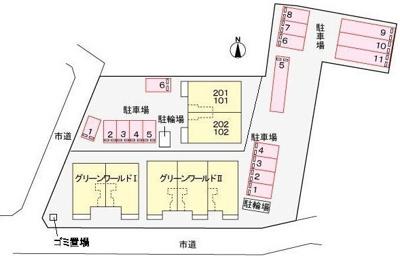 【区画図】グリーンワールドIII