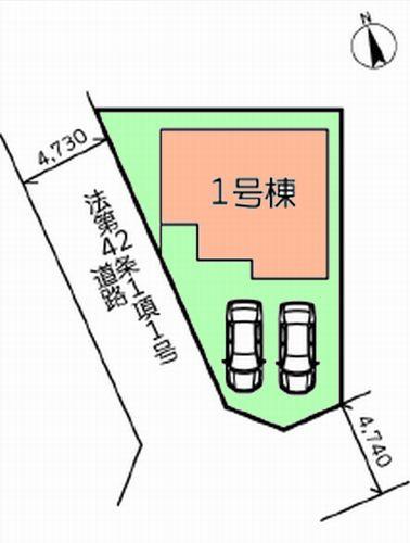 愛川町中津21-1期 新築一戸建て
