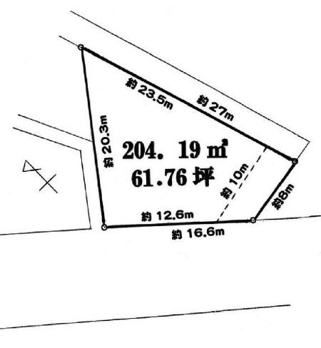 【土地図】取手市白山4丁目