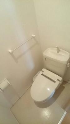 【トイレ】セキュレイト ハウス花園B