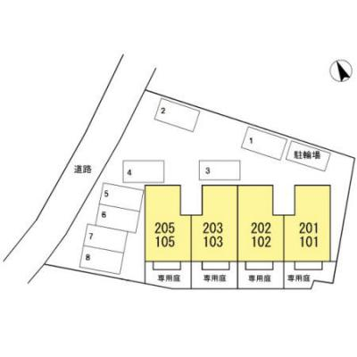 【区画図】セントラル亀山