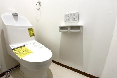 トイレは2ヶ所にあるので、忙しい朝の支度でトイレの順番待ちが緩和されますね。