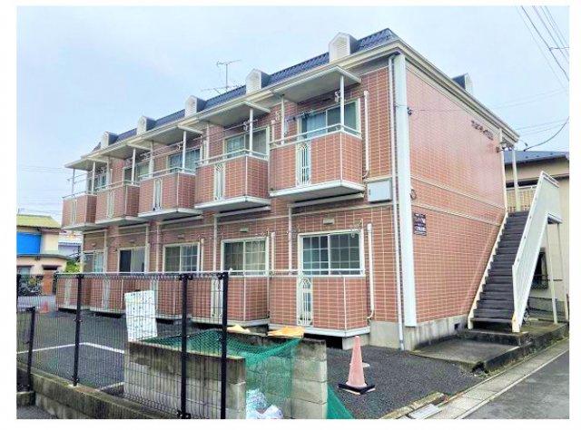 【外観】船橋市栄町1丁目の一棟売りアパート