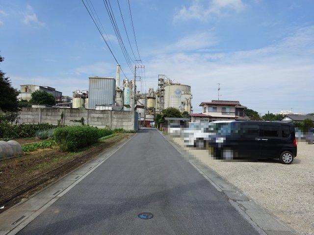 【前面道路含む現地写真】熊谷市三ヶ尻 1420万 土地