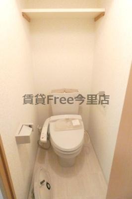 【トイレ】ルフォン今里 仲介手数料無料