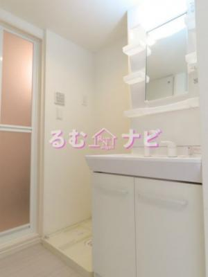【洗面所】リブリ・桜ヶ丘Wing