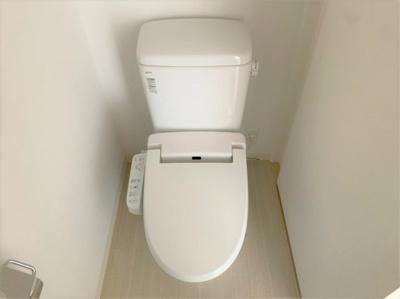【トイレ】レオンコンフォート谷町六丁目