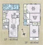 府中市緑町2丁目 新築戸建て 残り3棟 1号棟 仲介手数料無料!の画像