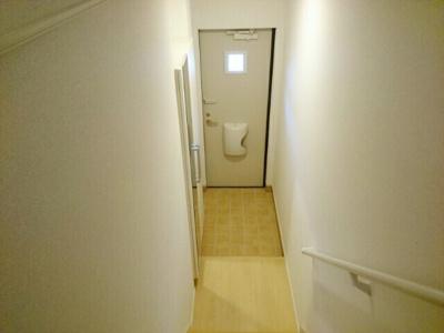 【玄関】ラインハイトⅡ