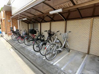【駐輪場】GSハイム中野南台
