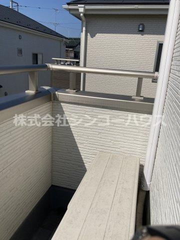 【バルコニー】久喜市栗橋東5丁目 戸建