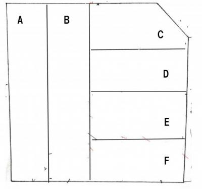【区画図】本郷町駐車場K 縦列