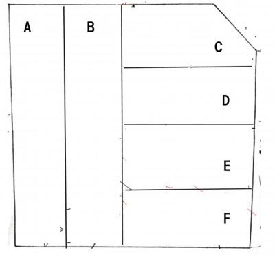 【区画図】本郷町駐車場K