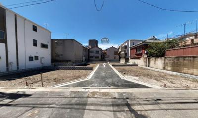 【前面道路含む現地写真】江東区東砂5丁目新築分譲住宅