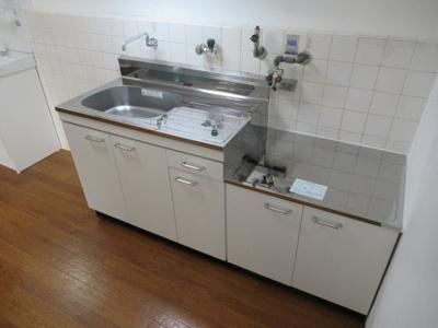 【キッチン】こがねグランドハイツ(八戸ノ里賃貸)