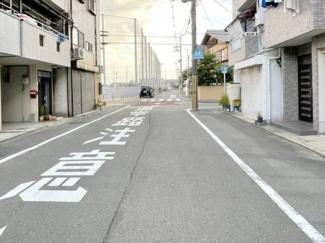 【前面道路含む現地写真】南寺方北通二丁目 中古戸建