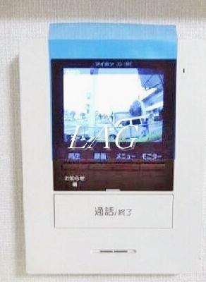 TVモニターフォンです。