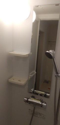 【浴室】パークサイドレジデンス北新宿