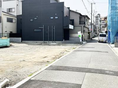 【前面道路含む現地写真】マザーハーツ田島2丁目 F号地