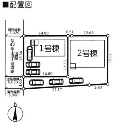 【区画図】クレイドルガーデン常総市本石下第7