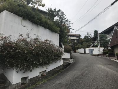 【前面道路含む現地写真】甲陽園西山町土地