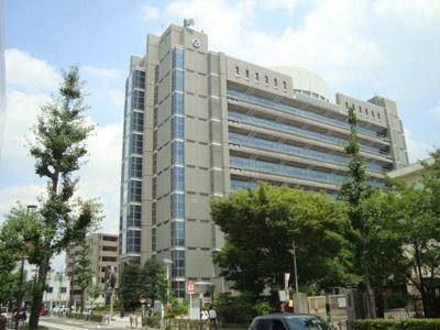 八尾市役所まで1,077m