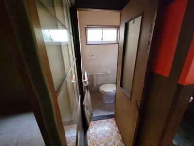 【トイレ】左京区吉田二本松町 中古テラス
