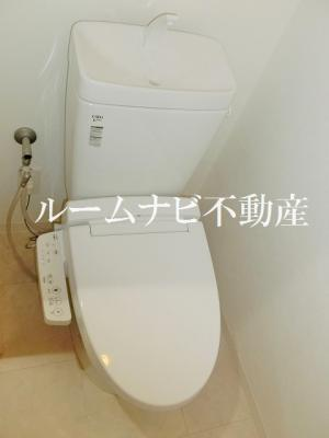 【トイレ】アイル日暮里弐番館