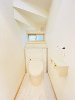 千葉市稲毛区小仲台 中古一戸建て 稲毛駅 ウォシュレット付きで清潔感のあるトイレです!