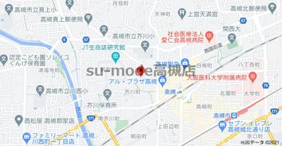 【地図】メゾン芥川