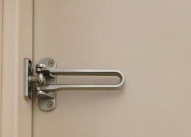 玄関ロックです。