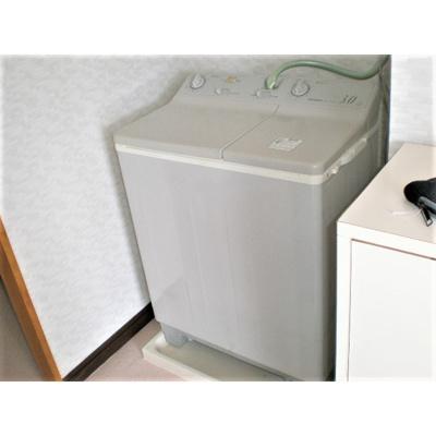 ※洗濯機は設備外です