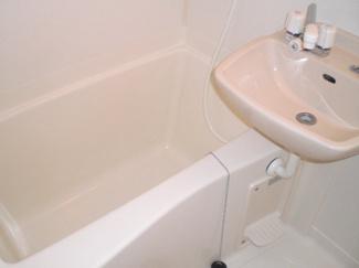 【浴室】レオパレスくぼた