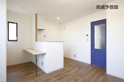 【居間・リビング】リノリノアパートメント観音新町