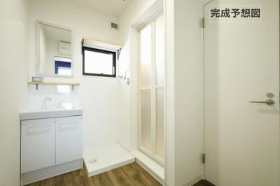 【洗面所】リノリノアパートメント観音新町