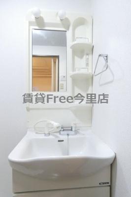 【独立洗面台】ファミリーコート大今里 仲介手数料無料