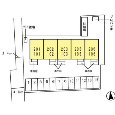 【区画図】ミル・クレール