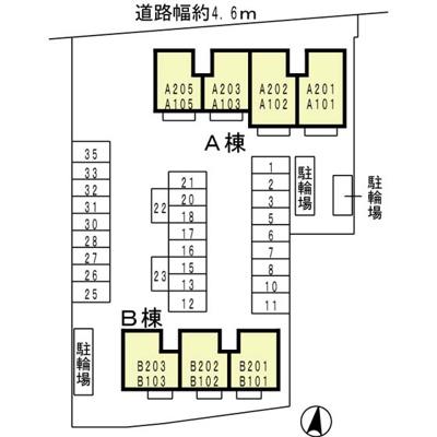 【区画図】フェニックス タカラ A棟