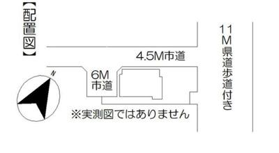 【区画図】鴻巣市本町8丁目~中古戸建~